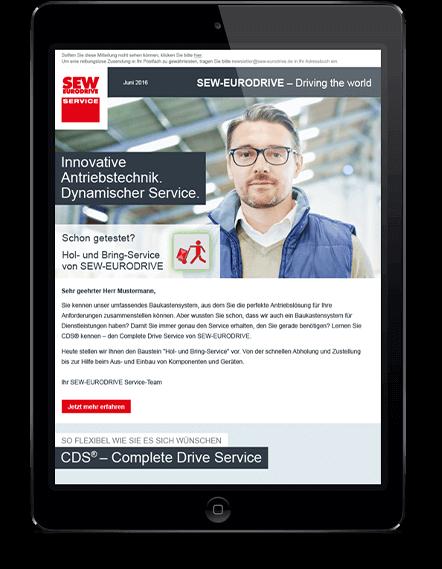 tessmar_brandevolution_sew_eurodrive_e-mailing-kampagne_tablet